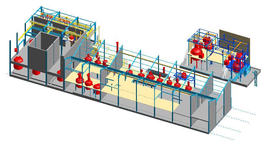 Contrat annuel d'ingénierie pour une usine de principes actifs pharmacie
