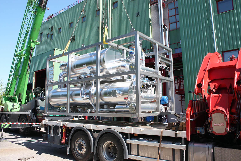 Coordination et suivi de chantier d'un réacteur cryogénique