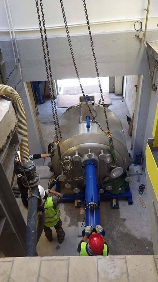 La Mesta - Chimie Fine - Etudes et suivi de réalisation de l'installation d'un filtre sécheur