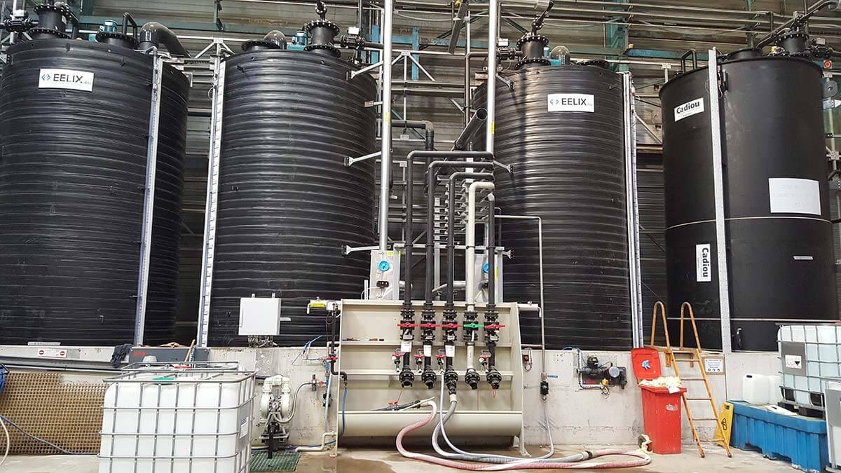 Quaron - Revamping d'un site de distribution de chimie minérale et organique - Stockage base